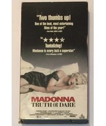 Madonna - Truth or Dare (VHS, 1991) - $6.81