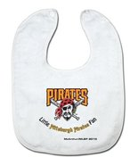 MLB Pittsburgh Pirates White Snap Bib with Team Logo - $13.72