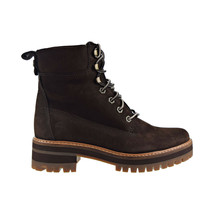 Timberland Courmayeur Valley 6 Inch Women's Boot Dark Brown Nubuck TB0A23UY - $126.00