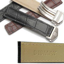 Dismay Leather Watch Band Strap For Tag Heuer Carrera Calibre 1887 - 22mm - 20mm - $39.99