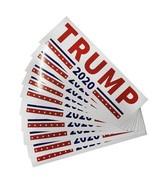 10pcs Donald Trump Car Bumper Stickers President 2020 Keep America Great... - $3.79+