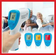Digital IR Infrared Forehead Thermometer Non Contact Body Temperature Me... - $37.88
