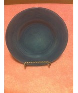 TABLETOPS GALLERY  CORSICA  SALAD PLATE  BLUE----FREE SHIP--VGC - $17.19