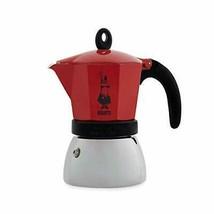BIALETTI direct-fired espresso maker Red W19.5xD11xH21cm  w/Tracking# New - $77.73