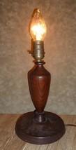 Antique Craftsman Mission Oak Table Lamp - $32.68