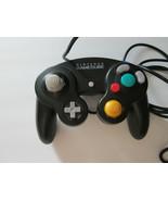 Nintendo Gamecube Jet Black Controller Authentic OEM DOL-003 TESTED - $23.74