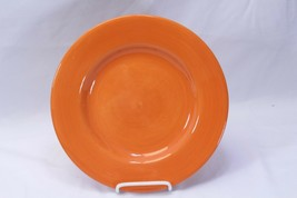 "Tabletops Corsica Home Dinner Plate Round Orange 11"" - $10.77"
