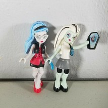 Monster High Mega Bloks Dolls Mini Figures Frankie Stein, Ghoulia Yelps - $23.99