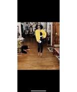 Vintage designer Oscar De Renta Genuine crocodile Alligator Yellow coat ... - $4,949.99