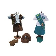 """Brownie and Junior Scout Uniforms Bundle 