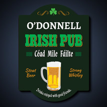 Cheers and Beers Personalized Irish Pub Sign - $49.95