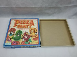 PIZZA PARTY Board Game REPLACEMENT BOX  ONLY Parker Brothers 1987 - $12.00