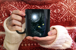Cute Black Cat And Moon Tonight Funny  Travel C... - $16.79