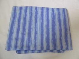 Multi Blue Medium and Light Wave Stripe Quilting Fabric JoAnn Fabrics 1.... - $14.90