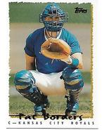 Baseball Card- Pat Borders 1995 Topps #151T - $1.00