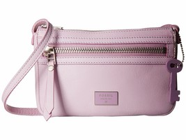 New Fossil Women Dawson Mini  Leather Crossbody Bag Variety Colors - $58.80+