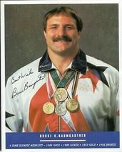 BRUCE BAUMGARTNER Autograph on 8x10 - $11.88