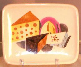 EAMES ERA MID CENTURY MODERN MADE IN JAPAN NAPCO PLATE - $9.95+