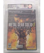 Metal Gear Solid 3: Snake Eater PlayStation 2 NEW FACTORY SEALED VGA 85 - $297.00