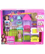 Barbie Skipper Babysitters, Inc. Climb 'n Explore Playground Dolls and P... - $45.59