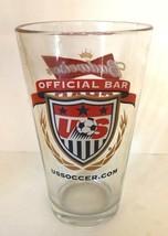 Budweiser Grab Some Buds Beer Pint Glass Official Bar US Soccer Barware ... - $19.99