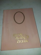 Antique Our Baby's Book Scrapbook Blank 1913 Jane Fielding Rare - $49.99