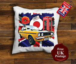 Avenger Tiger Cushion Cover, Hillman Avenger Cushion, Union Jack, Target, Poppy, - $9.01+