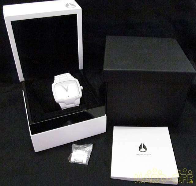 Nixon 03459 The Ceramic Player Automatic Watch image 4