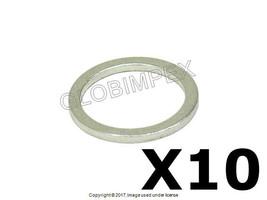 PORSCHE 911 912 924 928 930 944 968 Aluminum Washer 14 X 18 X 1.5 Set of 10 - $9.90