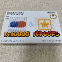 GBA DR.MARIO & PANEL DE PON Nintendo Retro Game Soft Game Boy Advance - $31.76
