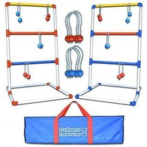Family Group Backyard Ladder Toss Bolas Game w/ Polyester Carrying Bag B... - $68.48