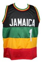 Custom Name # Team Jamaica Basketball Jersey New Sewn Any Size image 1