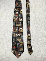 Taz Looney Tunes Neck Tie 1997 Stamp Collection USPS Warner Bros Men's Novelty - $15.83
