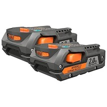 Ridgid R840086 Compact battery 2.0 AH Package 2 pack - $63.99