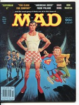 Mad-Magazine-#226-Oct-1981-Mort Drucker-Don Martin-David Berg-Superman - $50.44