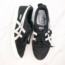 Onitsuka Tiger Asics Mexico Delegation Shoes Men's Leather Sneakers Blac... - $35.78