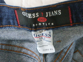 Vintage  Guess Jeans Bootleg Denim Jeans Size 32 (Made in USA) - $8.67