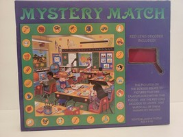 Mystery Match 100 Piece Jigsaw Puzzle with Red Lens Decoder Ages 5-10 - $18.69