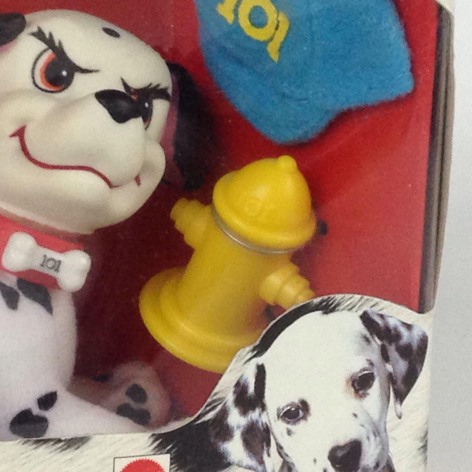 Disney 101 Dalmatians Wizzer Small Plush Puppy to Love New
