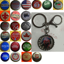 Spiderman Spider Man Coke Sprite Diet pepsi & more Soda beer cap Keychain