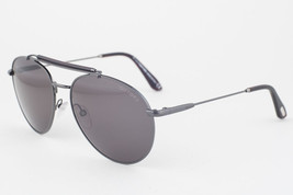 Tom Ford Colin Gunmetal / Green Aviator Sunglasses TF338 09N - $165.62