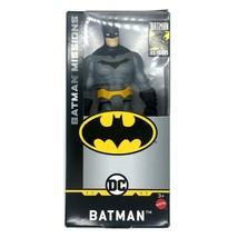 """Batman Missions Gray Suit 6"""" tall DC Comics by Mattel Action Figure Figu... - $11.64"""