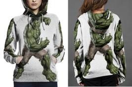 hulk the avanger image Hoodie Women's - $44.99+