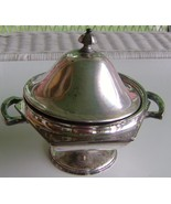Vintage Silver Plated Sheffield Reproduction Sugar Bowl - $8.00
