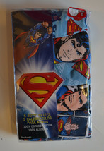 DC  Comic Superman Boys  Briefs 5 Pack Sizes 4 or 6 or 8  NIP   - $11.19