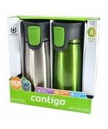 Contigo 2-Pack Vacuum Insulated Autoseal Travel Tumblers 14oz/414mL - €25,66 EUR