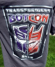 Authentic Transformers BotCon 2012 T Shirt Large - $24.74