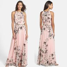 New Ladies Summer Long Maxi Evening Party Dress Beach Dresses Sundress Size 6 20 - $15.00