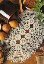 9X Advanced Art Of Joining Alliance Narcissus New World Crochet Doily Pa... - $9.99