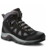 Salomon Authentic Leather GTX Mens Black Waterproof Trail Hiking Boots 4... - £137.67 GBP